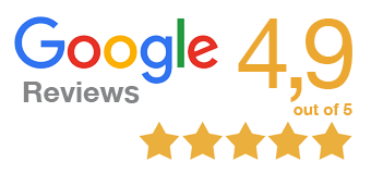 Google Reviews 4.9 out of 5